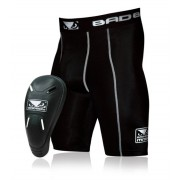 Bad Boy Defender 2.0 Compression Shorts And Cup Alasuojat