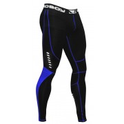 Bad Boy Sphere Compression Leggins Black/Blue kompressiotrikoot