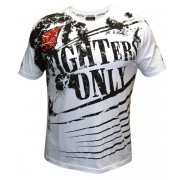 Fighters Only Splatter T-shirt White t-paita