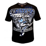 Fighters Only Superman Punch T-shirt Black