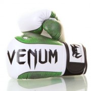 Venum Green Viper Boxing Gloves - Skintex leather