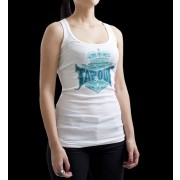 TapouT Womens Roxanne Crown Tank Top White