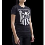 TapouT Womens Shield Logo Crew Neck Black t-shirt