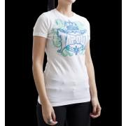 TapouT Womens Princess Crown White t-shirt