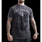 Dethrone Royalty Cain Eagle T-shirt Grey