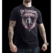 Dethrone Royalty Serpents T-shirt Black