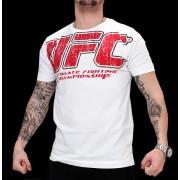 UFC Real White/Red t-paita