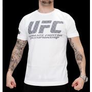 UFC Logo White/Grey t-paita