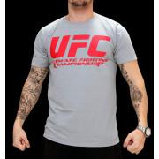 UFC Supporter Grey/Red t-paita