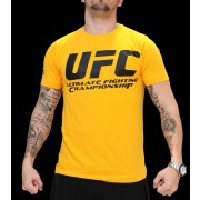 UFC Supporter Yellow/Black t-paita