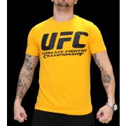 UFC Supporter Yellow/Black t-paita