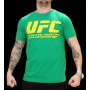 UFC Supporter Green/Yellow t-paita