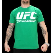UFC Supporter Green/White t-paita