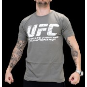 UFC Ultimate Fighter Olive/White t-paita