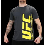 UFC Ultimate Charcoal/Yellow t-paita
