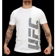 UFC Ultimate White/Charcoal t-paita
