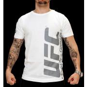 UFC Ultimate White/Charcoal t-paita