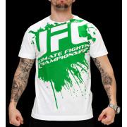 UFC Splatter White/Green t-paita