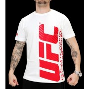 UFC Ultimate II White/Red t-paita