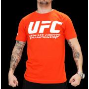 UFC Supporter Orange/White t-paita