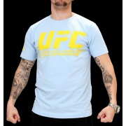 UFC Supporter Pale Blue/Yellow t-paita