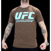 UFC Supporter Brown/Pale Blue t-paita
