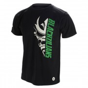 Jaco Blackzilians Half Mask Crew T-shirt Black White Green