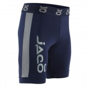 Jaco Vale Tudo Fight Shorts Long Navy/Silverlake