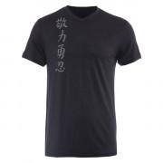 Jaco Kanji II Performance V Neck t-shirt Black