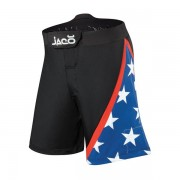 Jaco USA Resurgence MMA Fight Shorts Black