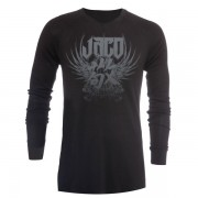 Jaco Venerable V-Neck Thermal Black
