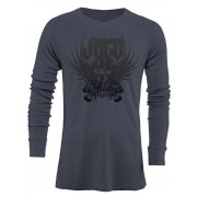 Jaco Venerable V-Neck Thermal Nubious Grey