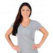 Jaco Womens Authentic Performance V Neck t-shirt Silverlake