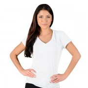 Jaco Womens Authentic Performance V Neck t-shirt White