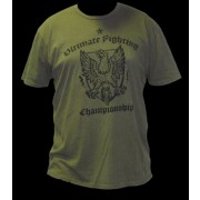 UFC Green Military Crest tee