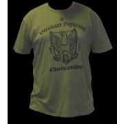 UFC Green Military Crest tee