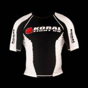 Koral Rash Guard Short Sleeve Black