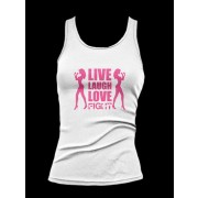 Fight Chix Live Laugh Love Fight tank