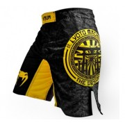 Venum Lyoto Machida Torii Legacy Fightshorts Black/Yellow
