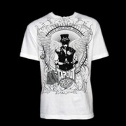 TapouT We Still Believe Mask Tribute Series White t-shirt