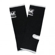 Nationman Ankle Support Free Size Black/White (pair)