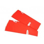 Nationman Ankle Support Free Size Orange/White (pair)