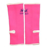 Nationman Ankle Support Free Size Pink/White (pair)