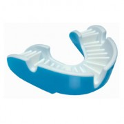 Opro Gold Mouthguards Sky Blue/White
