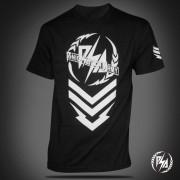 Panic Switch Rock The Badge T-shirt Black