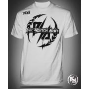 Panic Switch Stencil T-shirt White