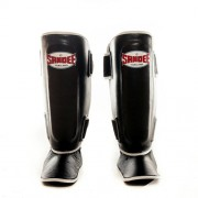 Sandee Authentic Leather Boot Shinguard Black/White jalkasuojat