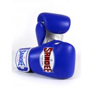 Sandee Authentic Velcro Nyrkkeilyhanskat Sininen Valkoinen