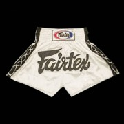 Fairtex Muay Thai Shorts White
