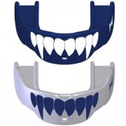 TapouT Adult Fang Mouthguards Blue